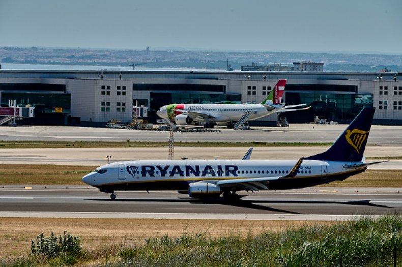 Ryanair British Government UK Travel Restrictions COVID