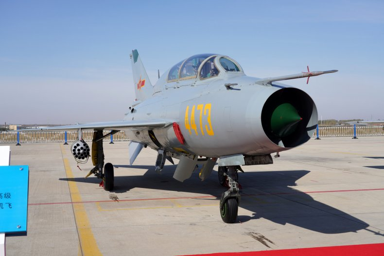 China Warplanes Buzz Taiwan In Their Dozens