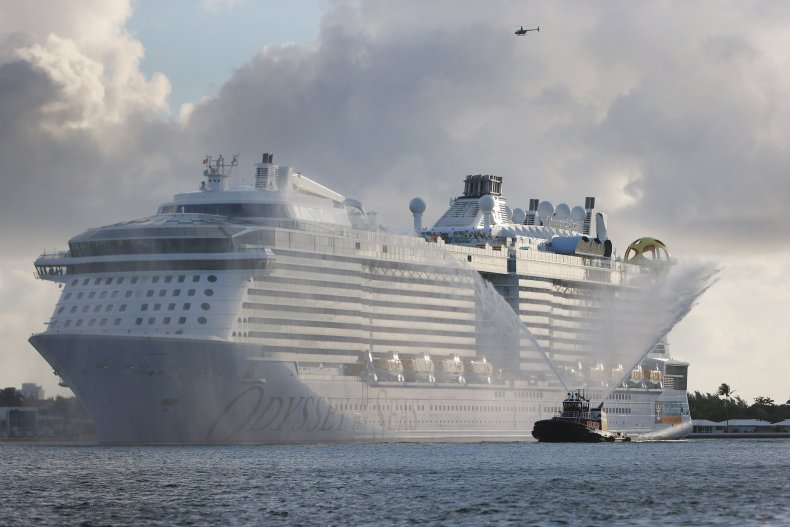 Royal Caribbean's Odyssey of the Seas ship.