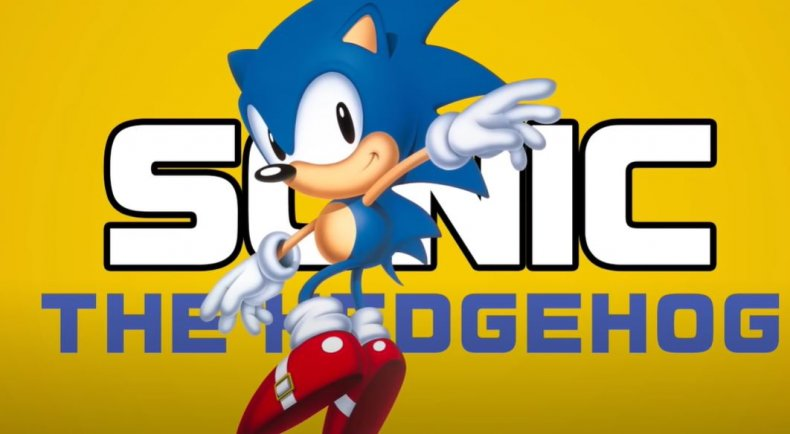Sonic the Hedgehog in Sonic Mania