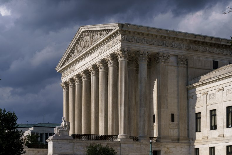 View of the Supreme Court