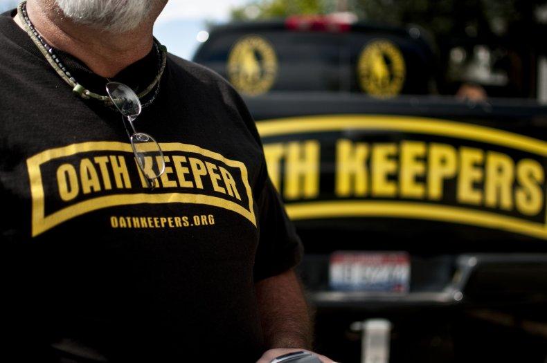 Oath Keepers Miliitiaa Group