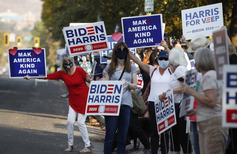 Biden Supporters in Utah