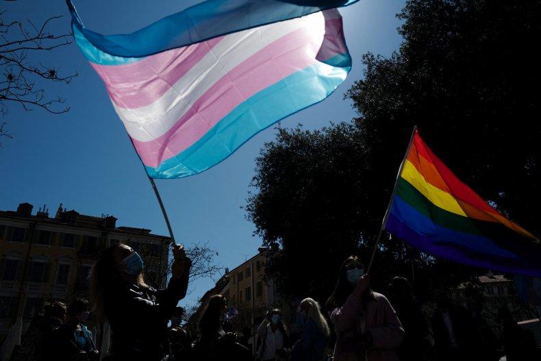 transgender flag department of justice title ix