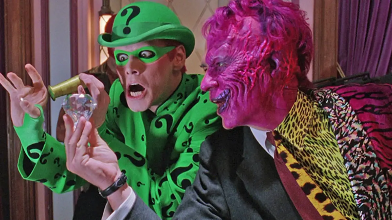 two face and riddler in batman forever