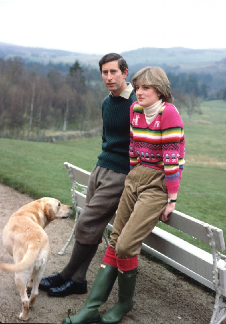 Prince of Wales Lady Diana Spencer