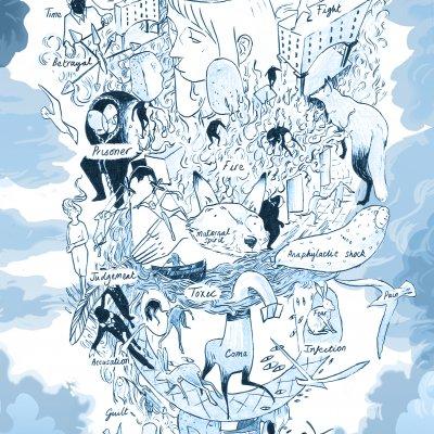 Zara Slatterys comic of her experiences