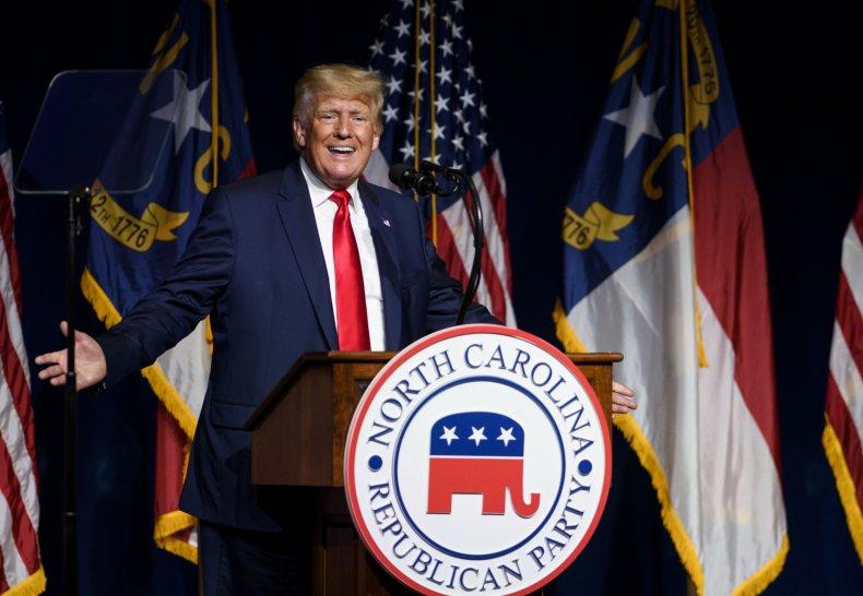 Trump Addresses the North Carolina Republican Party