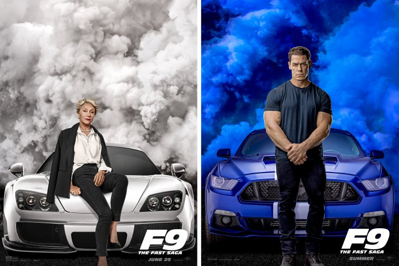 Fast & Furious F9 Mirren Cena cars