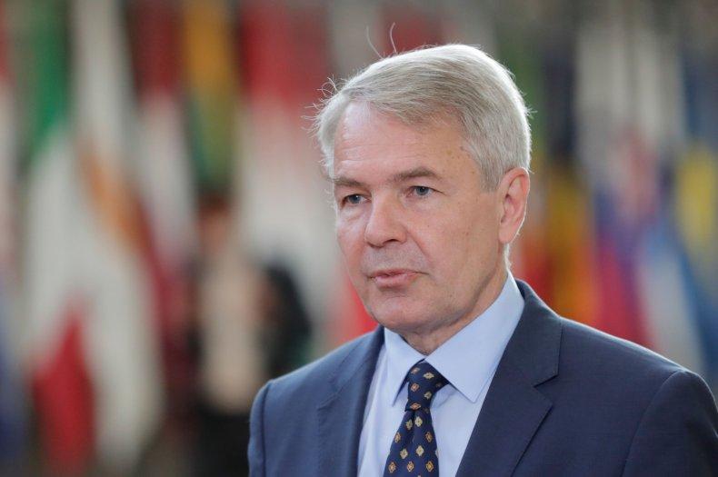Finnish Foreign Affairs Minister Pekka Haavisto