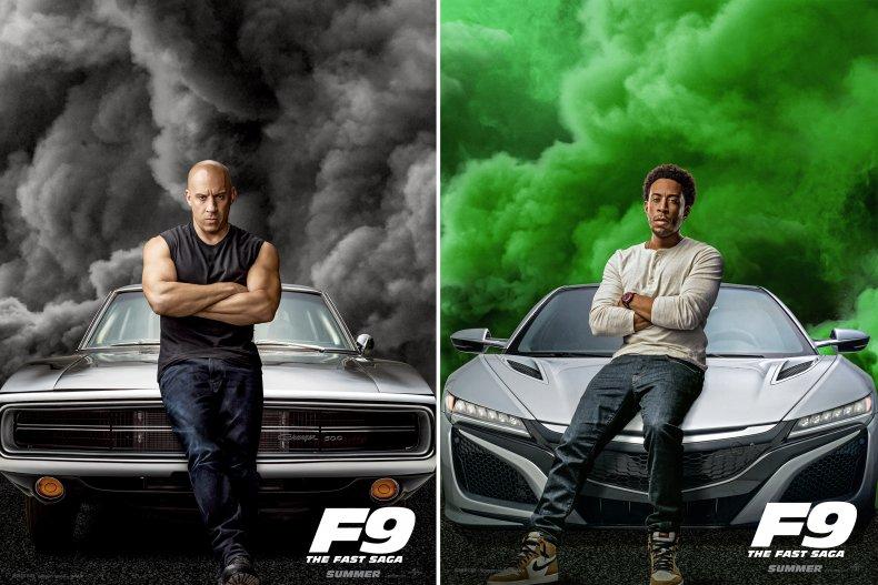 Fast & Furious F9 Ludacris Diesel cars