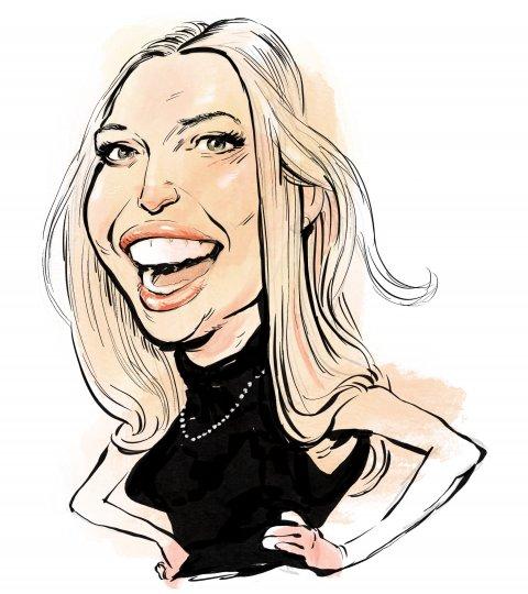 Ivanka Trump caricature
