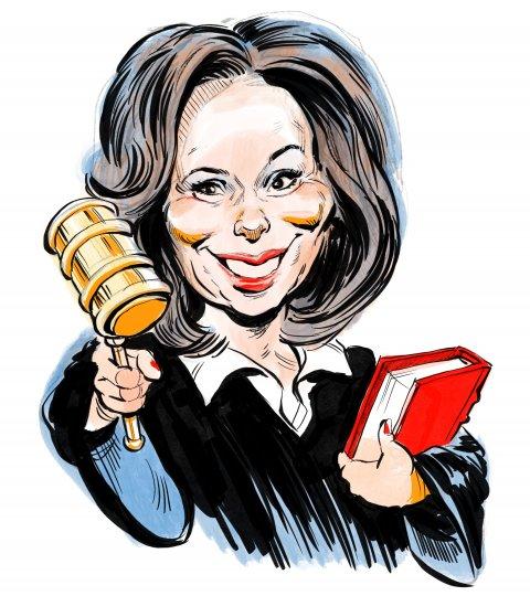 Jeanine Pirro caricature