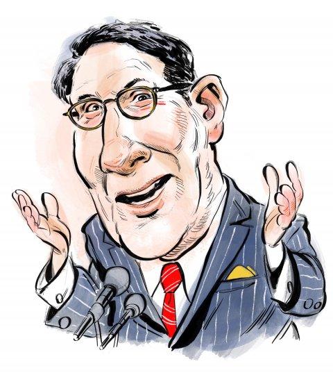 Jay Sekulow caricature