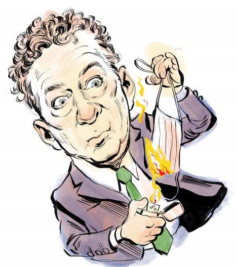 Rand Paul caricature