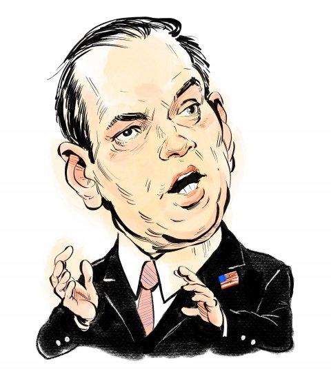 Marco Rubio caricature