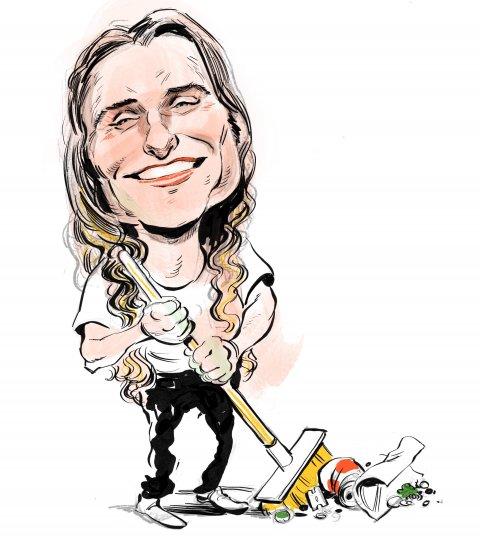 Scott Presler caricature