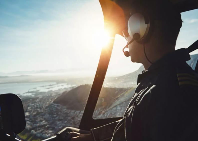 #2. Airline pilots, copilots, and flight engineers