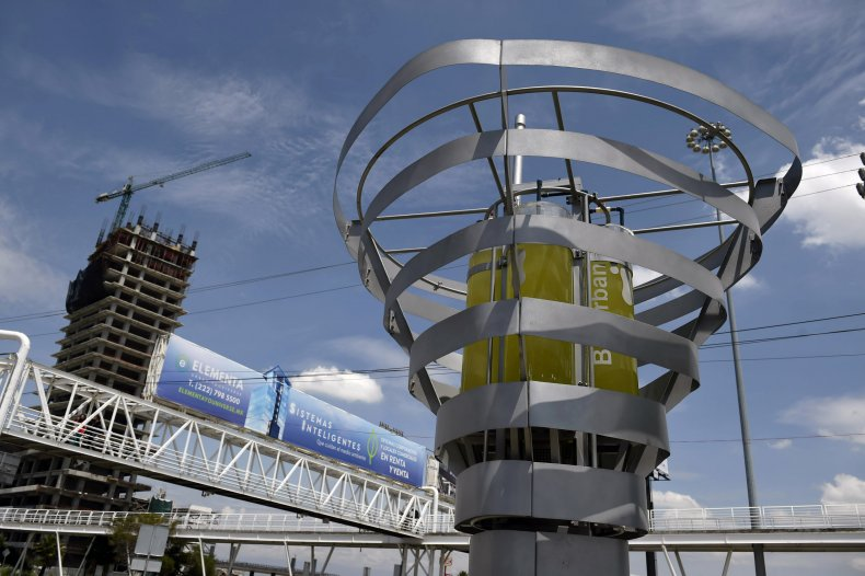 BioUrban 2.0 air purification system in Puebla