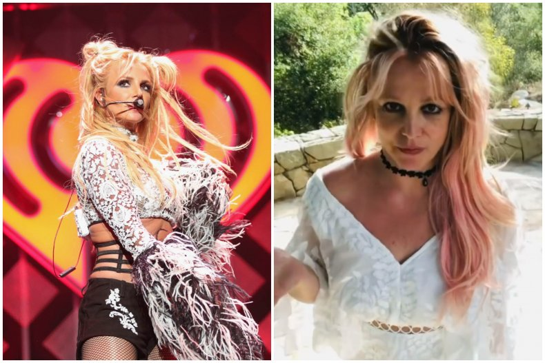 Britney Spears is currently under a conservatorship