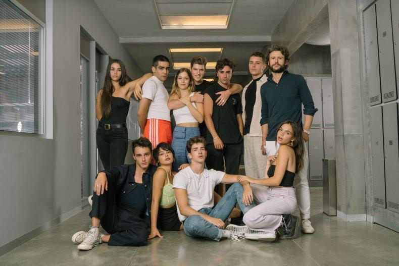 Elite season 4 cast