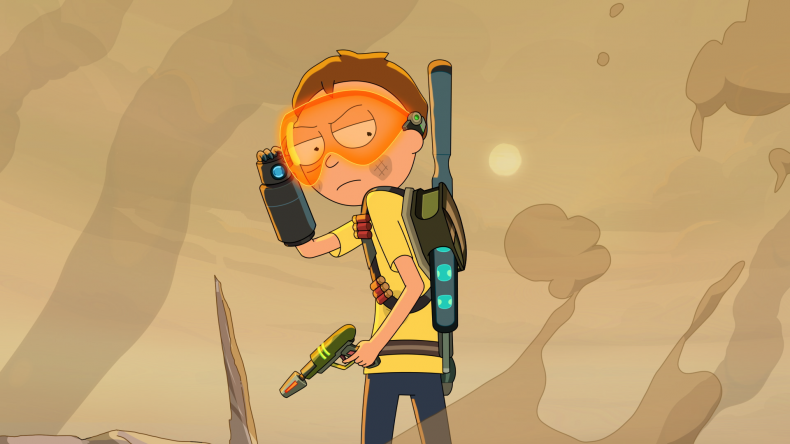Morty in Episode 1 Rick and Morty