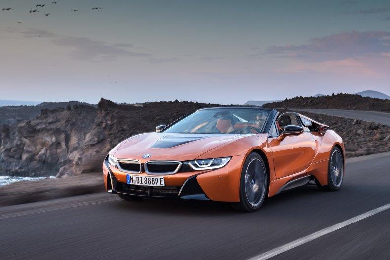 2019 BMW i8 Roadster orange