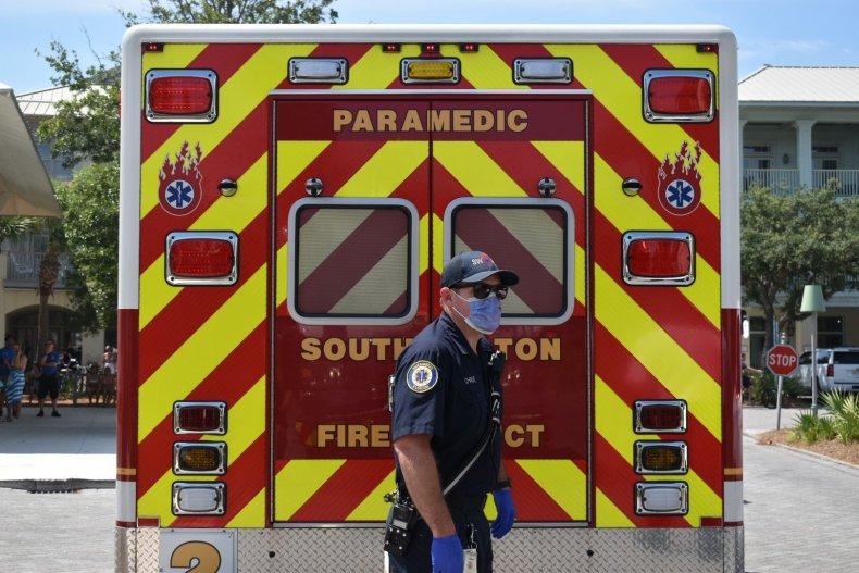 South Walton Fire District emergency responder