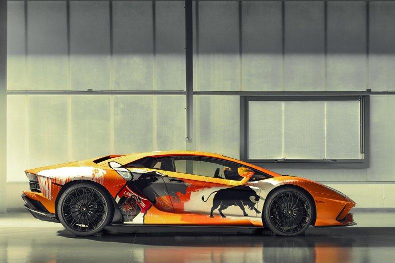 Lamborghini Aventador Skyler Grey