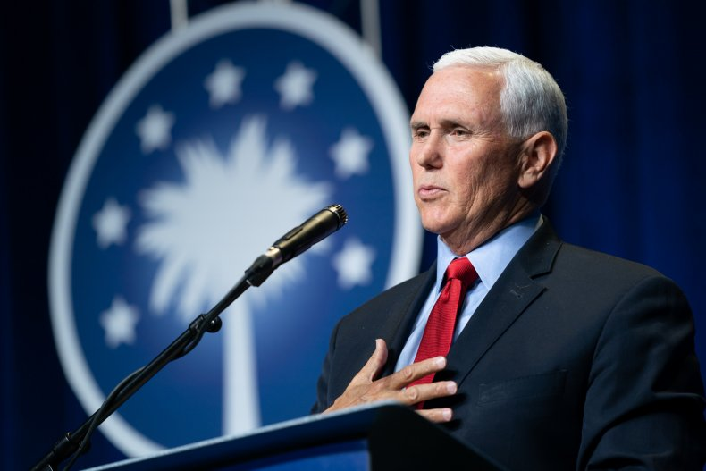 Mike Pence Delivers His First Address Since