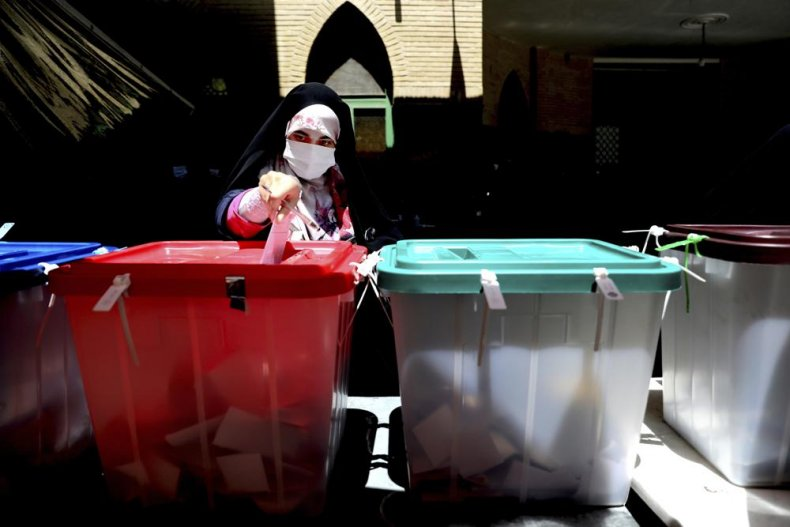 Iranian Votes in Presidential Election