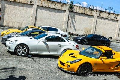 Bureau of Customs Philippines McLaren crushed