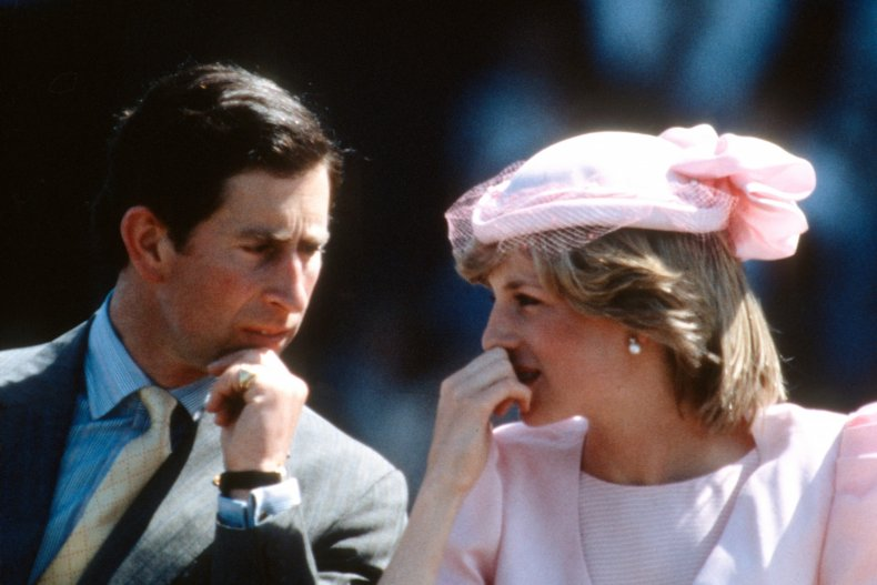 Charles and Diana in Australia in 1983