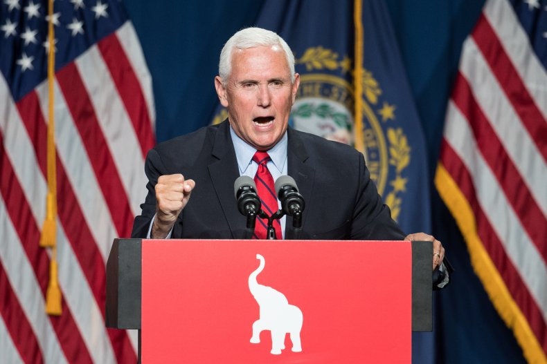Mike Pence Addresses the GOP's Lincoln-Reagan Dinner