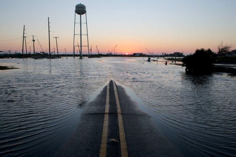 Hurricane Delta Takes Aim At Louisiana's Gulf