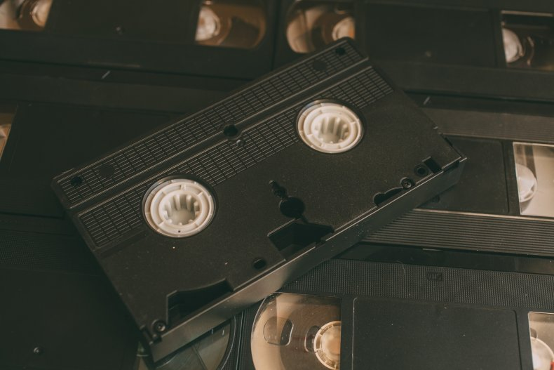 piles of vhs tapes