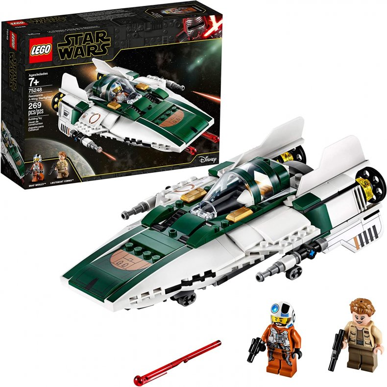 LEGO Star Wars Resistance A Wing Starfighter