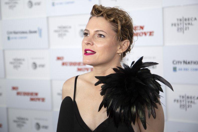 Amy Seimetz stars in No Sudden Move