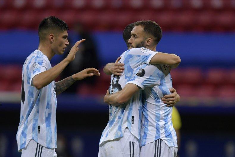 Argentina midfielder Guido Rodriguez