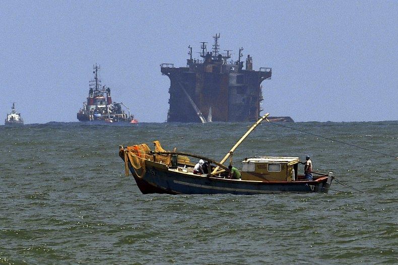 X-Press Pearl sinking