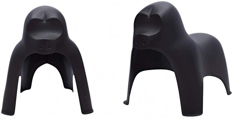 Amazon Basics Premium Plastic Stackable Kids Chairs