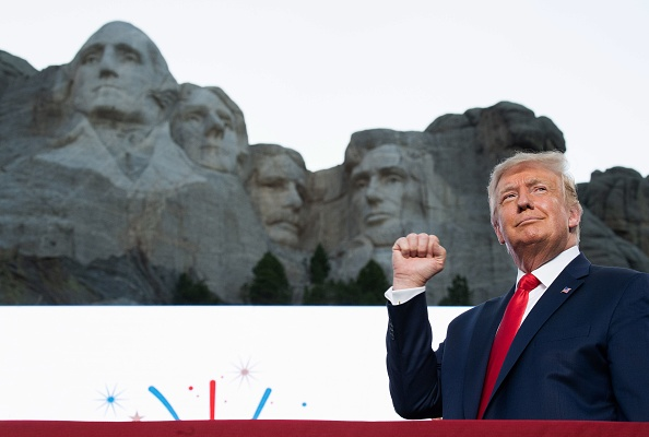 Trump's Mount Rushmore Independence Day Celebration Cost Almost $4 Million