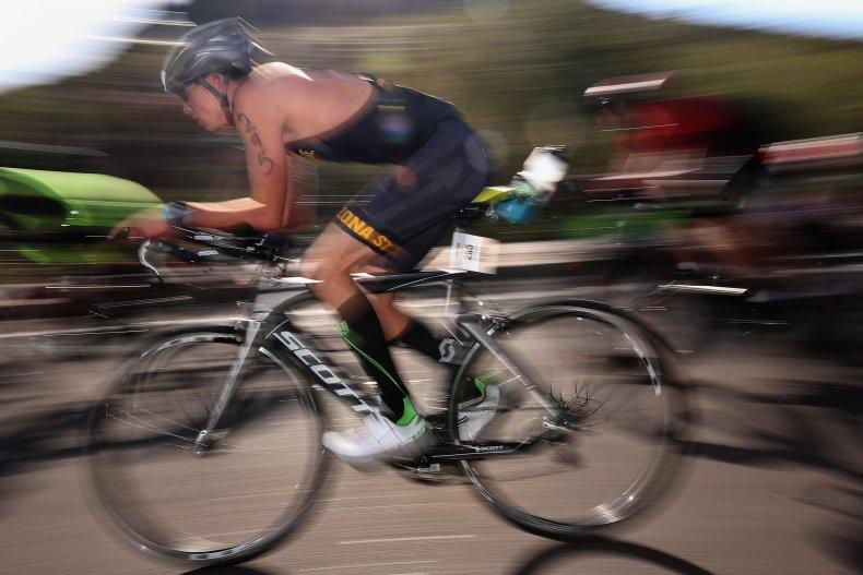 Bicycle Race in Arizona