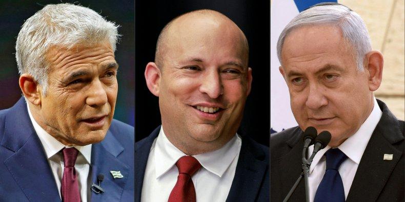 Yair, Lapid, Naftali, Bennett, and, Benjamin, Netanyahu