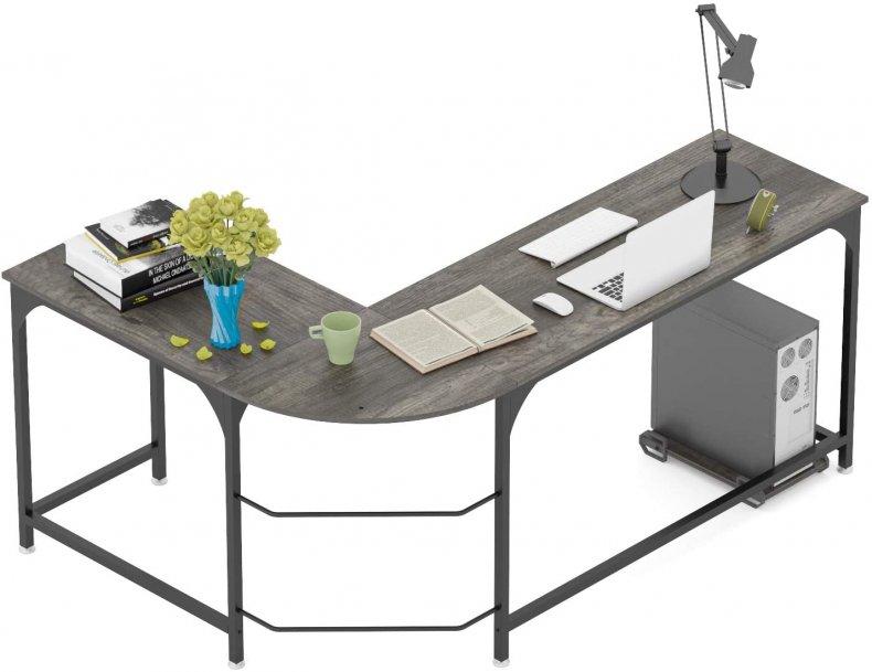 Teraves Reversible L-Shaped Desk