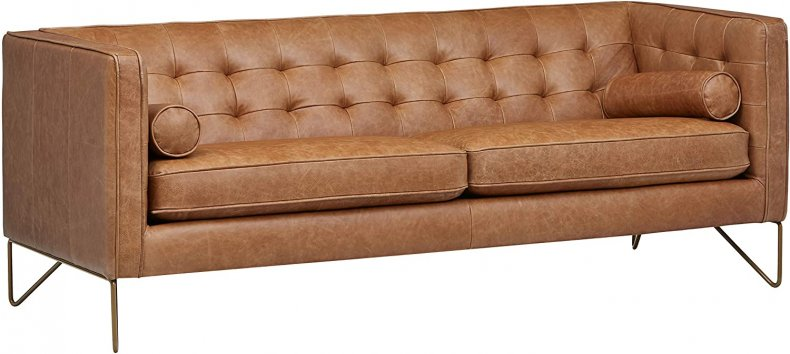 Rivet Brooke Contemporary Mid-Century Couch
