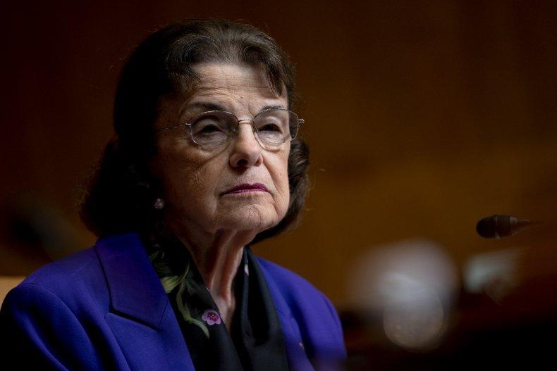 Dianne Feinstein filibuster progressive groups pressure
