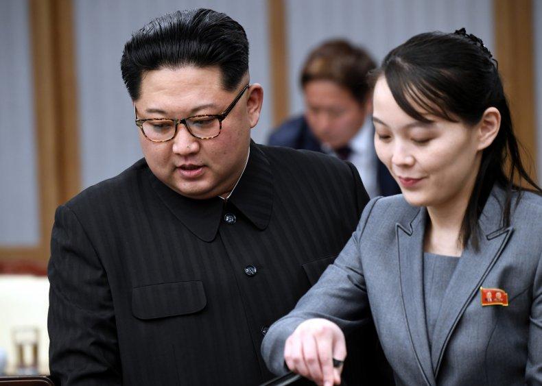 Kim Jong Un, sister Kim Yo Jong