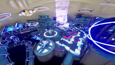The Interior of Fortnites O2 Arena