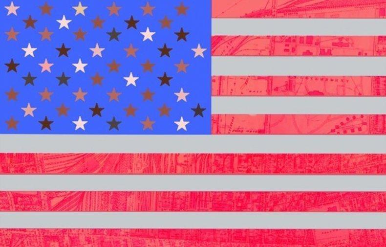 Macy Gray's US flag suggestion